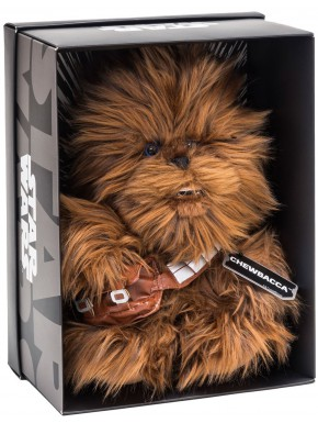 Peluche Chewbacca Star Wars 25 cm Black Line