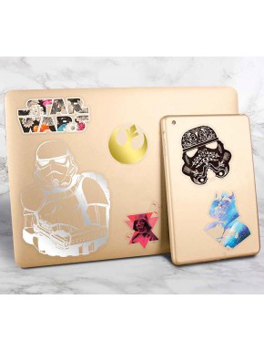 Set pegatinas Vinilo Star Wars Colores