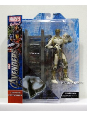 Figura de acción Marvel Select Chitauri