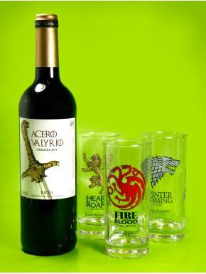 Pack Rioja Acero Valyrio Juego de Tronos