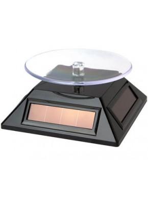 Peana solar giratoria de exposición