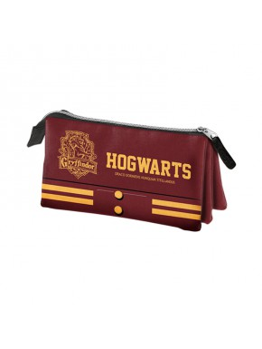 Estuche Triple Harry Potter Gryffindor Hogwarts