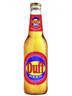 Cerveza Duff The Simpsons