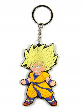 Llavero Caucho Goku Dragon Ball