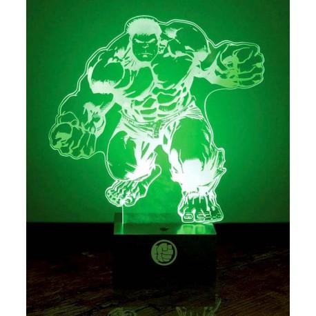 Lámpara Hulk Marvel 24 cm