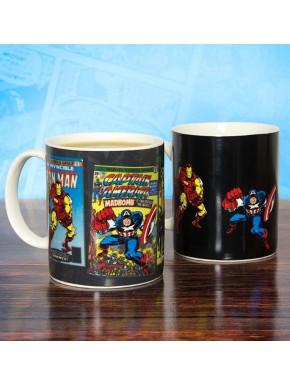 Taza Térmica Marvel Vintage Comics