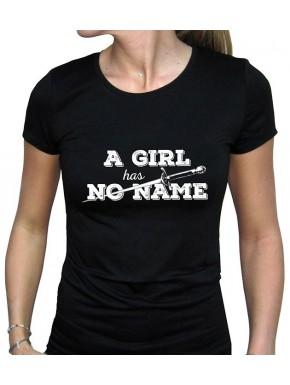 Camiseta Chica a Girl has no name