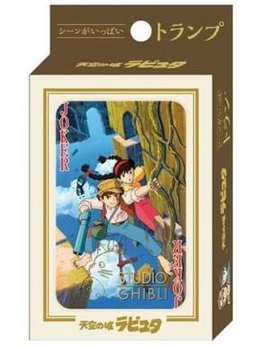 Baraja Poker El castillo en el cielo Miyazaki