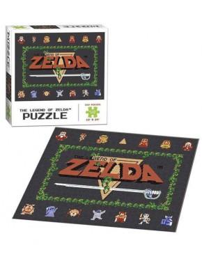 Puzzle Nintendo Zelda Classic NES