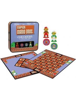 Juego de Damas Super Mario Bros