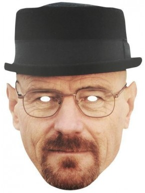 Mascara Heisenberg Breaking Bad