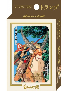 Baraja Poker La Princesa Mononoke Miyazaki