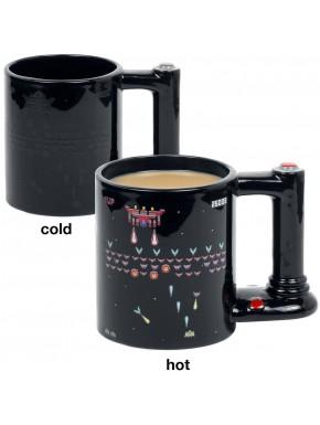 Taza térmica retro Arcade