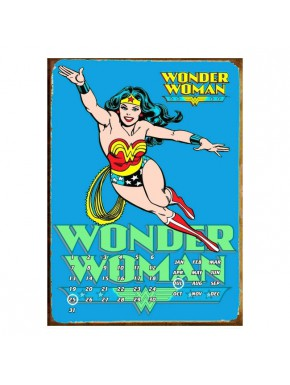Calendario Perpetuo Wonder Woman Azul