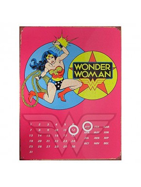 Calendario Perpetuo Wonder Woman Rosa