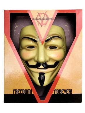 V de Vendetta Máscara de Guy Fawkes