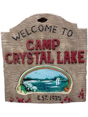 Réplica Viernes 13 Escudo Camp Crystal Lake