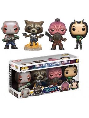 Funko Pop! Pack 4 Guardianes de la Galaxia 2 Set B