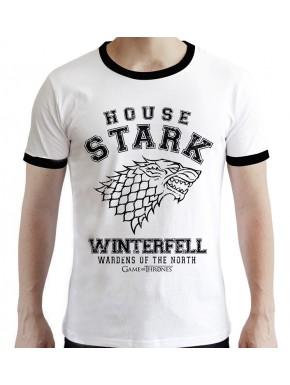 Camiseta House Stark Juego de Tronos Winterfell