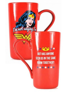 Taza Wonder Woman Latte Classic