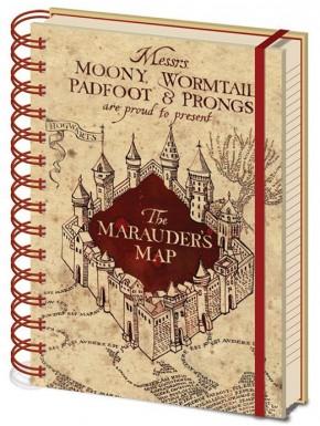 Libreta Harry Potter Mapa del Merodeador
