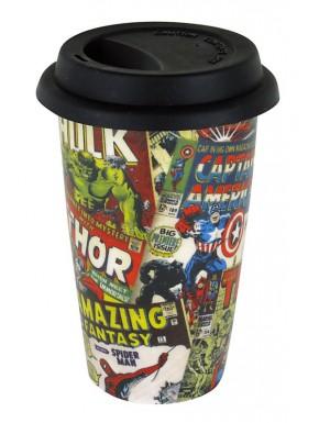 Taza de Viaje Marvel Comics