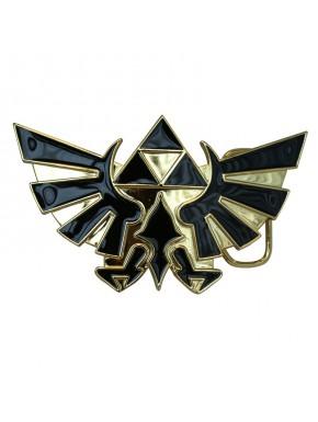 Hebilla Nintendo Zelda trifuerza