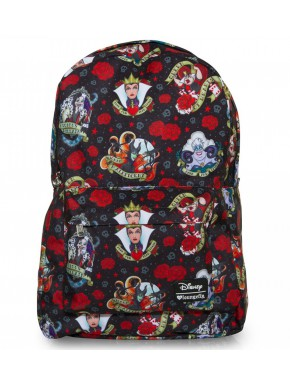Mochila Loungefly Villanos Tattoo Disney
