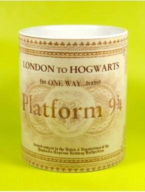 Taza Harry Potter ticket