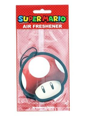 Ambientador coche Seta Roja Super Mario
