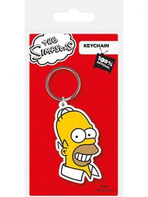 Llavero caucho Homer Simpson