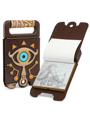 Libreta Bloc de dibujo Zelda Sheikah Breath of the Wild