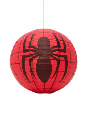 Lámpara papel Spideman Esfera 30 Cm