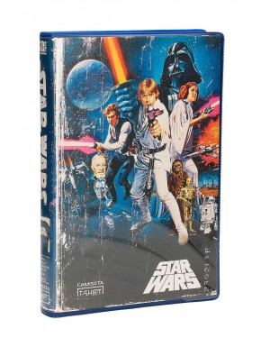 Camiseta Star Wars VHS blue