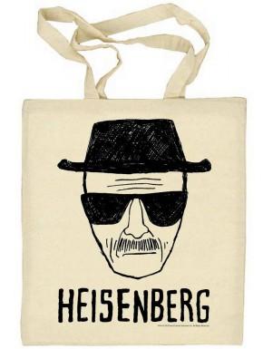 Bolsa de algodón Heisenberg Breaking Bad Blanca
