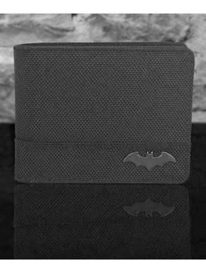 Cartera Batman DC Comics Logo Metálico