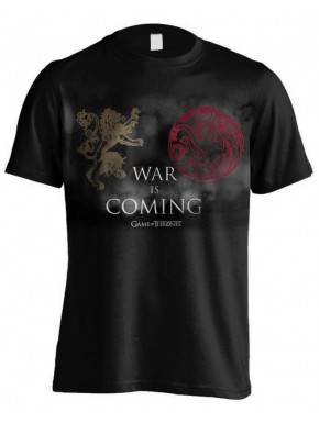 Camiseta War Is Coming Juego de Tronos
