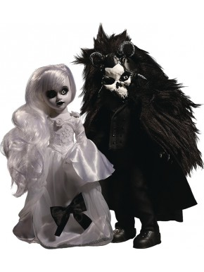 Set 2 Muñecos Beauty and the Beast Scary Tale Living Dead Dolls