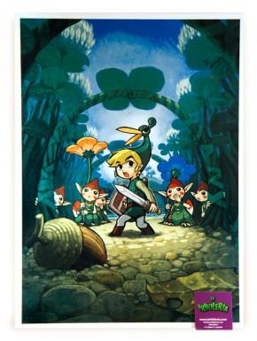 Poster metálico Zelda Link