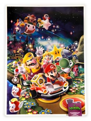 Poster metálico Super Mario