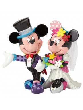 Figura Boda Disney Britto Mickey & Minnie