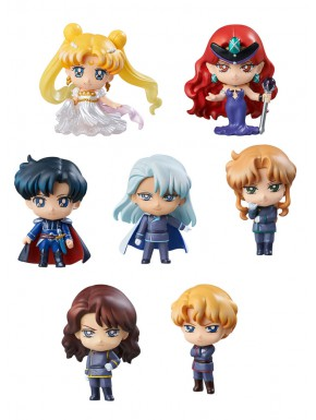 Sailor Moon Petit Chara sorpresa Dark Kingdum