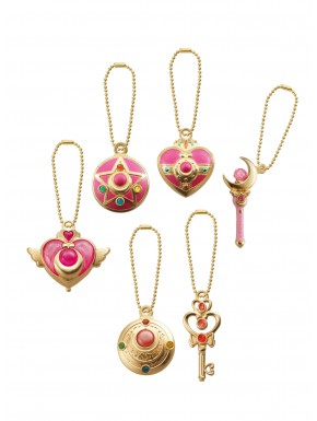Set 6 Colgantes Sailor Moon Bandai
