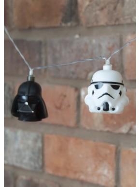 Lámpara decoración Navidad Star Wars