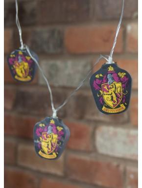 Tira de lámparas Gryffindor Harry Potter