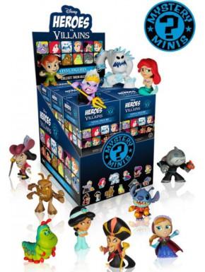 Minifigura Sorpresa Heroes y Villanos de Disney Funko