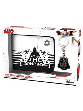 Pack regalo Star Wars Cartera + Llavero Darth Vader