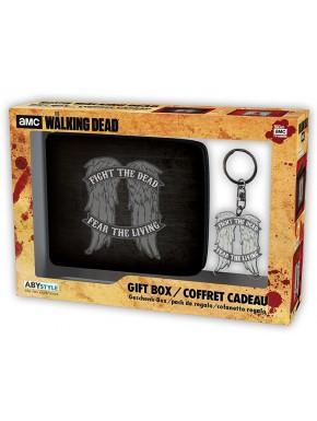 Pack regalo The Walking Dead Cartera + Llavero Daryl