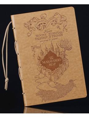 Diario Premium Harry Potter Mapa del Merodeador