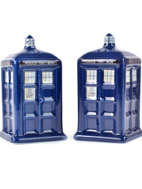 Salero y Pimentero Doctor Who Tardis